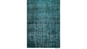 Vintage matta turkos