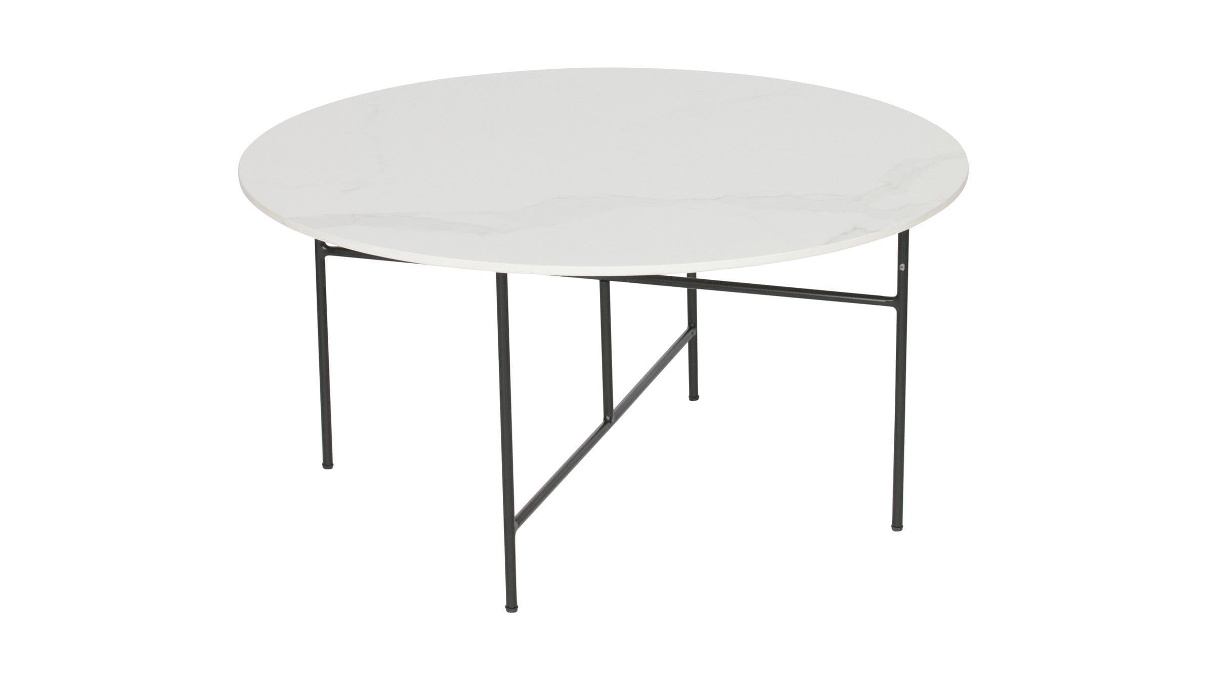 Icke gamla Vida soffbord marmor vit - Affordable design BU-39