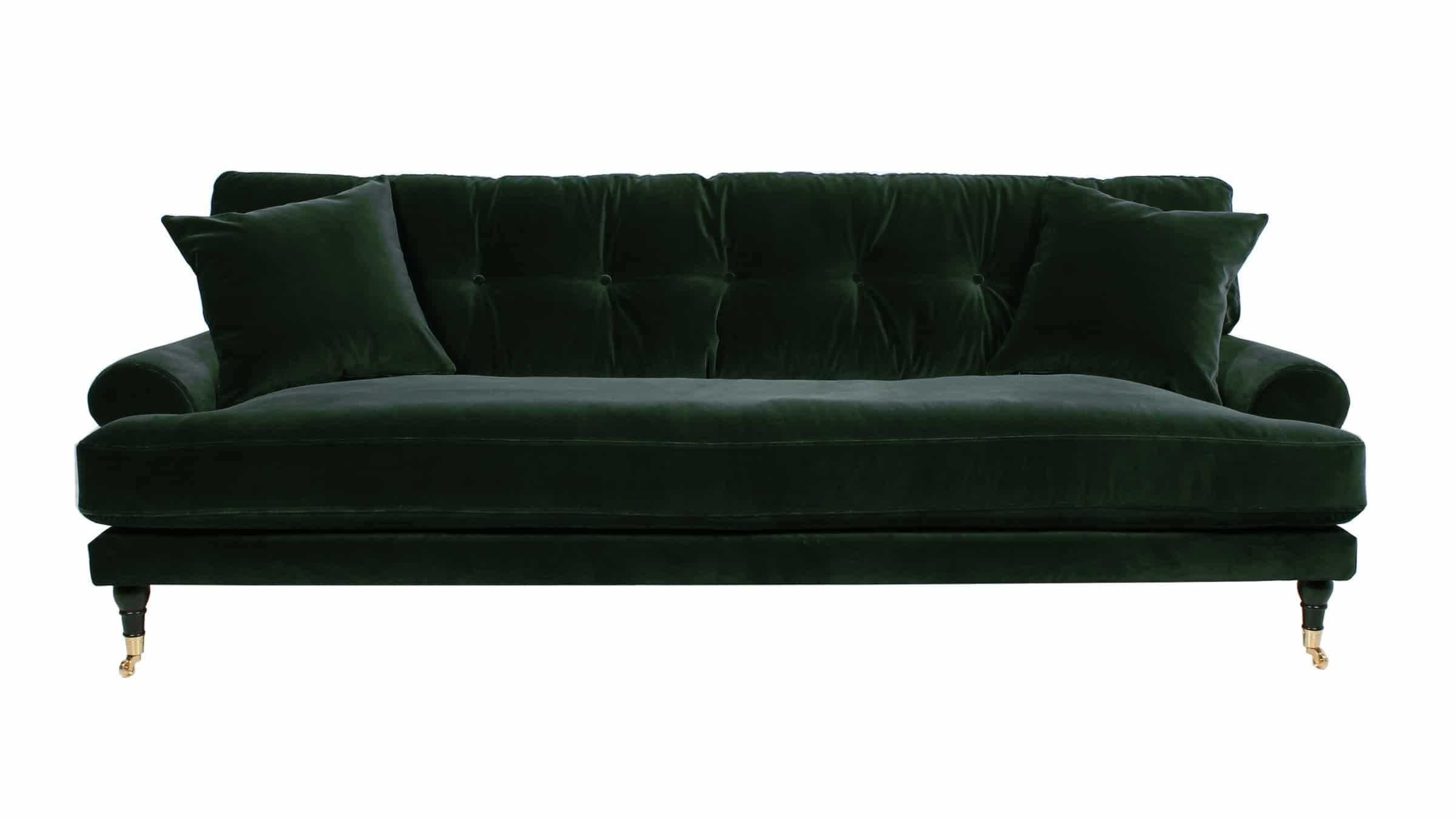 Attraktiva Blanca 3-sits soffa sammet - Affordable design BM-01